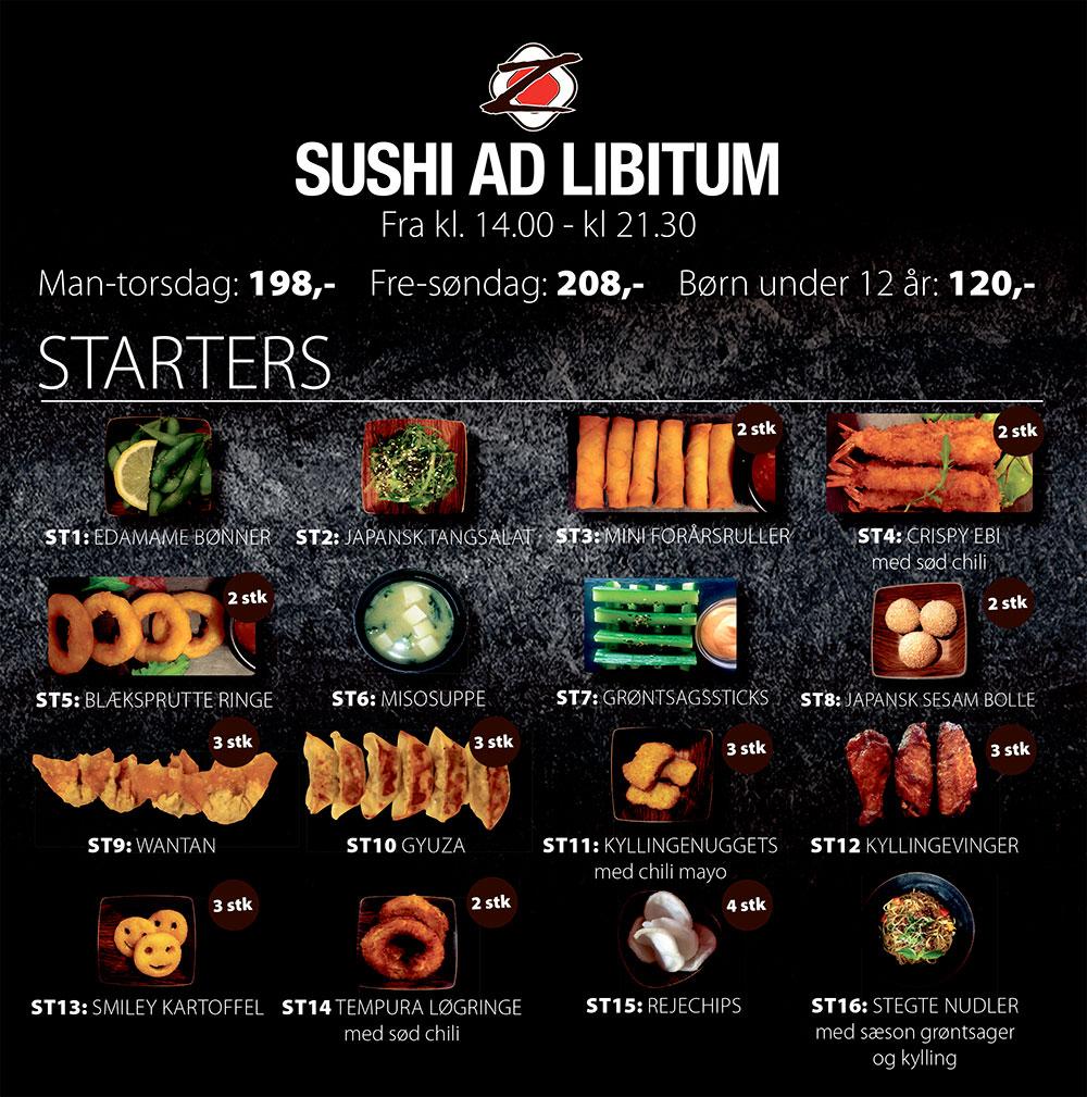 all you can eat sushi københavn